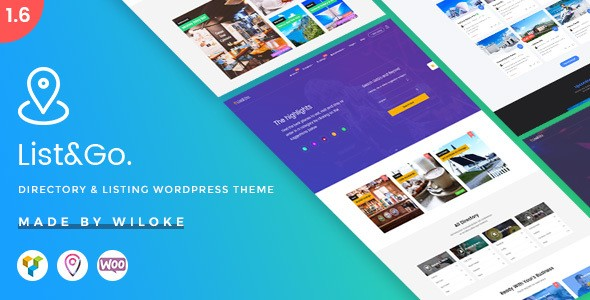 ListGo – Directory WordPress Theme